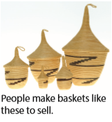 people make baskets