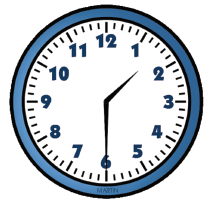 Fig. 6. Analogue clock