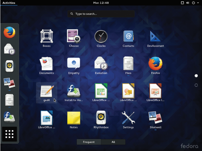 Fig. 23. Various applications of GNOME