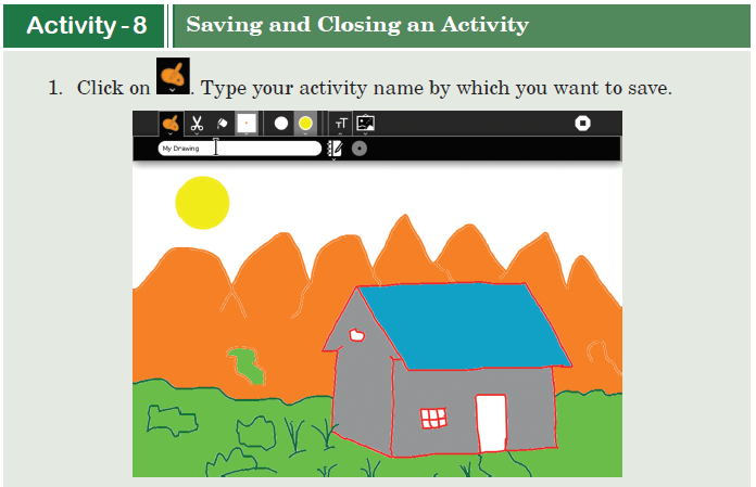 Activity -8 Saving and Closing an Activity