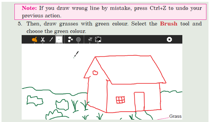 Activity -3 Drawing a House with Free Hands