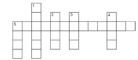 Complete the crossword puzzle using the clues below: