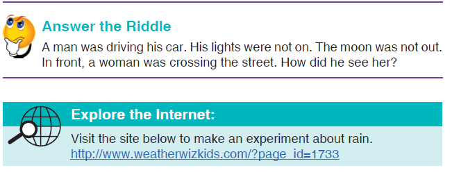 RIDDLE AND INTERNET LINK