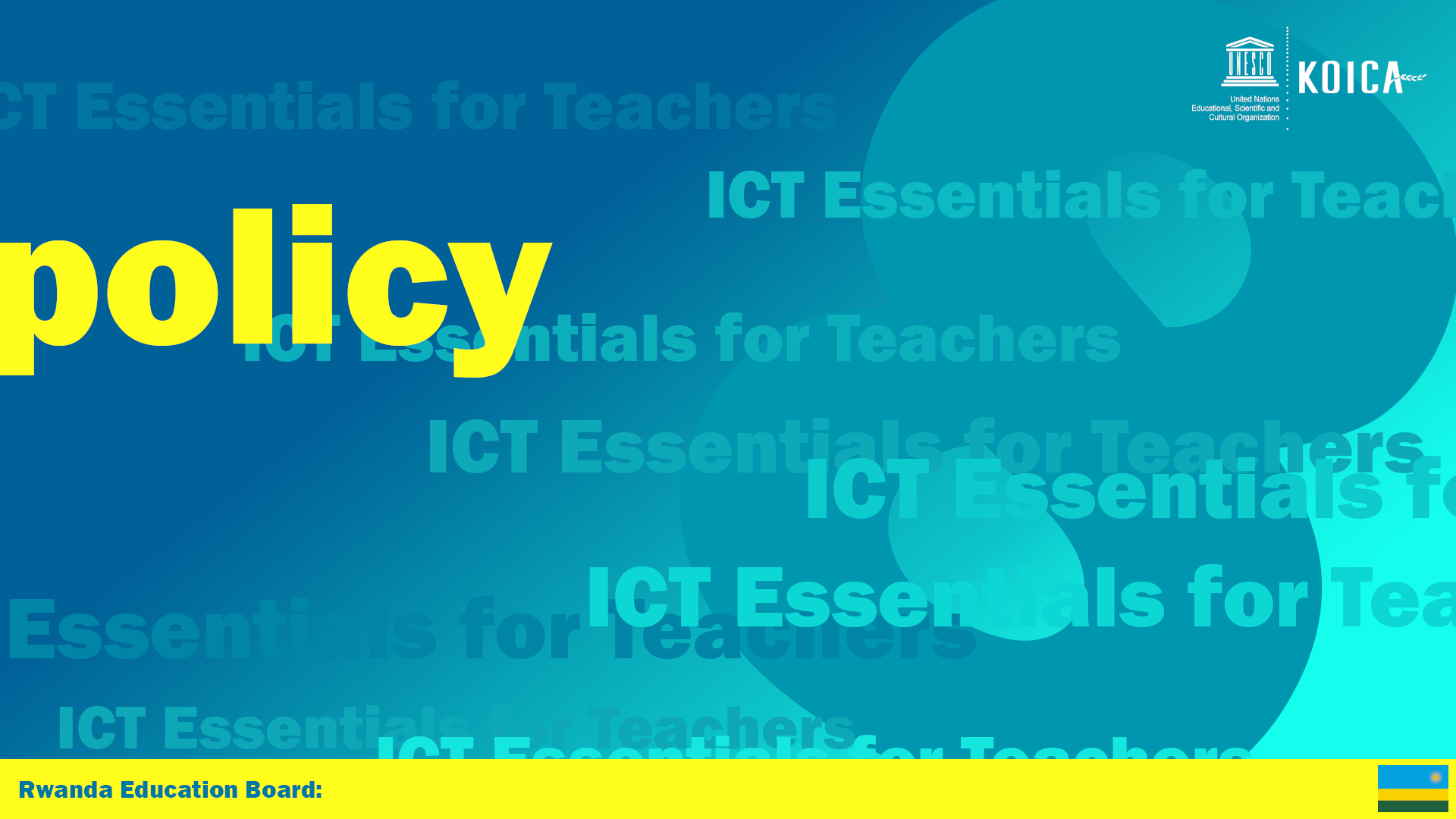 ICT & Policy