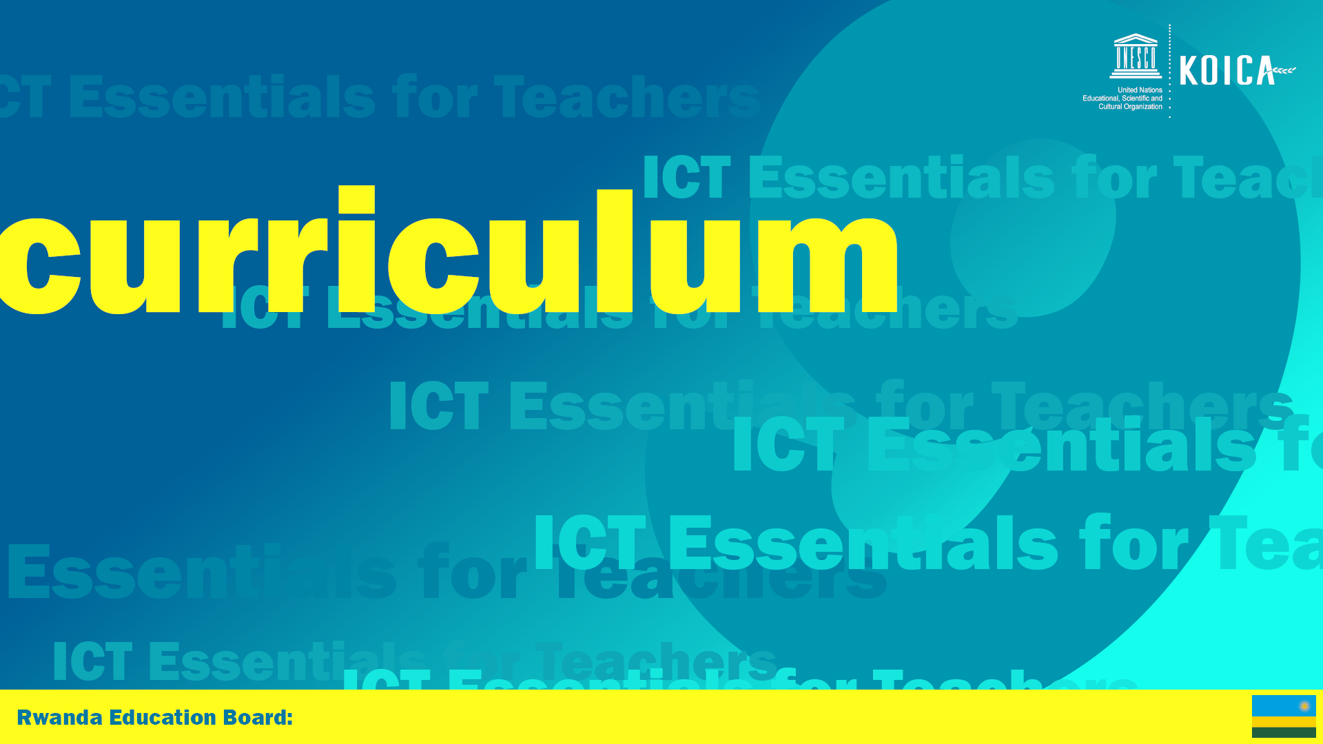 ICT & Curriculum